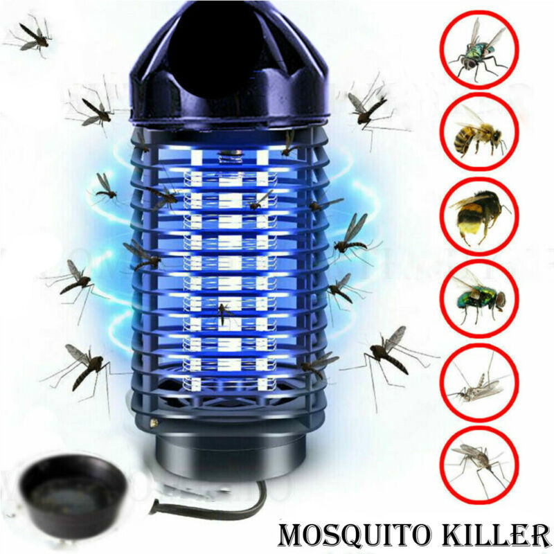 Electric UV Mosquito Killer Lamp Outdoor Indoor Fly Bug Insect Zapper Traps Hot Sales