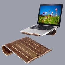 SAMDI 보그 나무 노트북 냉각 패드 스탠드 우드 쿨러 홀더 브래킷 도크 유니버설 맥북 에어 프로 레티 나 iPad 용
