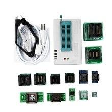 New Mini Pro Tl866Ii Plus Programmer+13Adapters+Sop8 Clip 1.8V Nand Flash 24 93 25 Mcu Bios Eprom Avr Program