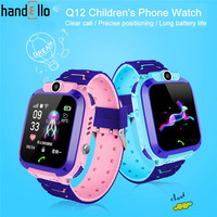 Q12 crianças relógio de telefone inteligente à prova dantiágua sos antil lost gps finder monitor multifunções para ios android reloj inteligente nio|Relógios infantis| |  -