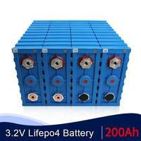 Batteria ricaricabile LiFePO4 di grado A 16 pezzi CALB 3.2v 200Ah batteria solare nuovissima 24V 48V 200AH litio ferro fosfato