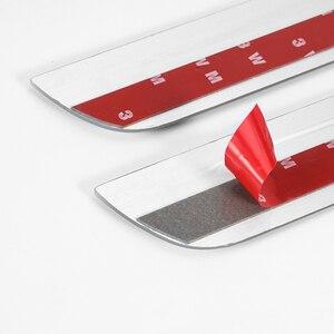 Image 5 - Umbral de puerta LED para coche para BMW i3 I01 2013 2019, placa de desgaste para puerta, vía de Pedal, luz de bienvenida, accesorios para coche