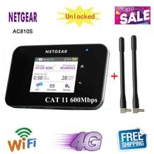Разблокированный сенсорный экран Netgear Aircard AC810S 810S Cat11 600 Мбит/с 4GX Advanced III 4G LTE Мобильная точка доступа pk e5786 ac790s