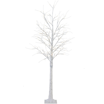 Nordic Style Ins Decorate Ornament Originality Bedroom Girl Atria   Birch Christmas Floor Lamps Tree