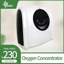 BMC концентратор кислорода генератор кислорода интеллектуальный пульт дистанционного управления Портативный Регулируемый бытовой 1~ 6L бар очиститель воздуха