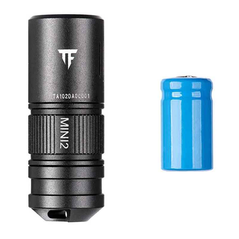 TRUSTFIRE MINI2 220lm USB Rechargeable 10180 LED Keychain Light IPX8 Waterproof EDC Flashlight Lantern Torch Lamp Spotlight
