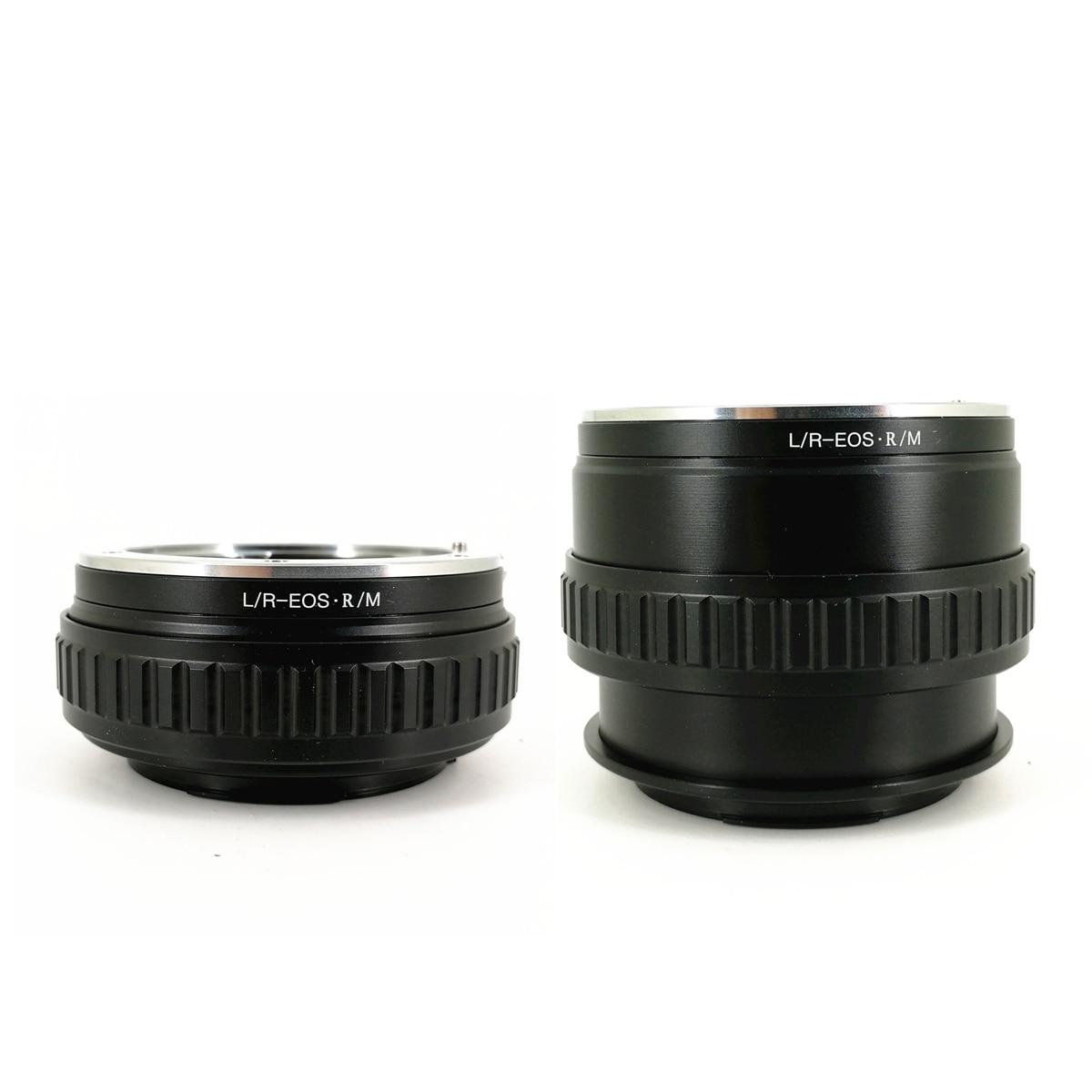 Bague d'adaptation réglable pour monture d'objectif Macro LR-RF LR-EOSR pour objectifs Leica R et LR-EOSR de corps Canon EOSR EOS R RP
