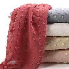 M35 17pcs High quality new chiffon design hijab scarf shawl wrap headband long w