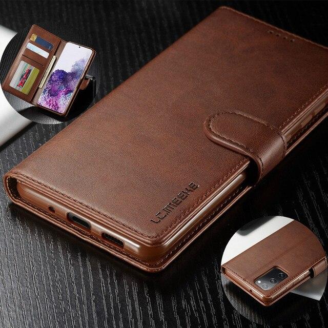 Bao Da Ví Da Dành Cho Samsung Galaxy Samsung Galaxy Note20 Cực S20 S10 Plus A71 A51 5G A41 A31 A21s A11 A01 a70 A50 A40 A20e A10 Flip Cover