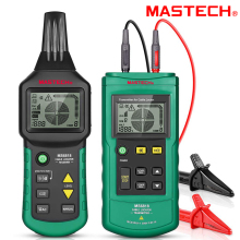 Wire Cable Tracker Metal Pipe Locator MASTECH MS6818 Multi Cable Detector 12~400V Pipe Network Telephone Cable Locator