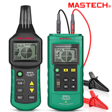 цена на Wire Cable Tracker Metal Pipe Locator MASTECH Multi Cable Detector 12~400V Pipe Network Telephone Cable Locator