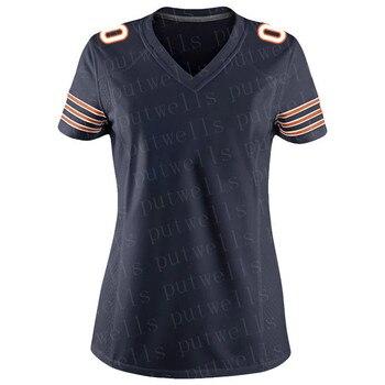Women's Customized Chicago Stitch Jersey American Football Fans Jerseys ROBINSON II SAYERS FOLES SINGLETARY MONTGOMER Jersey недорого