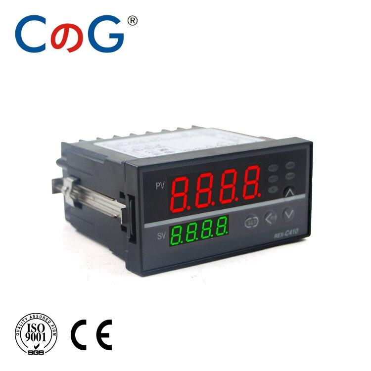 CG REX-C410 96*48mm Multy Input K E PT100 0-10V 4-20mA Output SSR Relay 110-220V 24V 380V Thermostat PID Temperature Controller