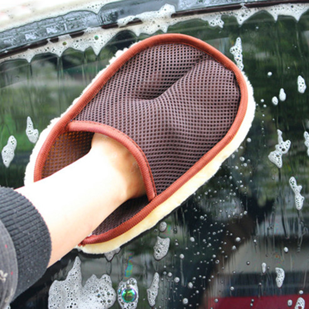 Universal Soft Car Cleaning Glove Good Absorbent Car Washing Glove Vehicles Cleaning Tool