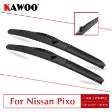 Автомобильные мягкие стеклоочистители kawoo для nissan pixo