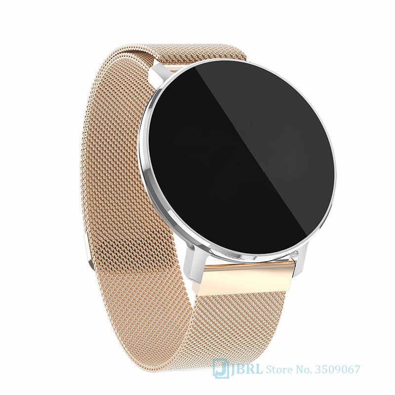 Round Smart Watch Men Women For Android IOS Smartwatch Electronics Smart Clock Wach Fitness Tracker Top Smart-watch Wristwatch