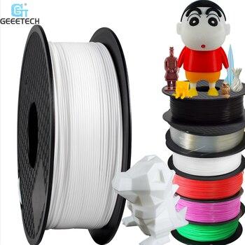 Geeetech, 1kg, 1,75mm, filamento PLA, envasado al vacío, almacenes extranjeros, una variedad de colores para impresoras 3D