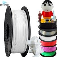 Geeetech 1kg 1.75mm pla filamento embalagem a vácuo no exterior armazéns uma variedade de cores para impressoras 3d