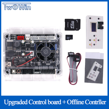 Ulepszony 3 osi w trybie Offline płyta kontrolera GRBL USB Port grawerka cnc płyta sterowania dla 2117 1610 2418 3018 maszyna tanie i dobre opinie TwoWin Milling Machine 1610 2418 3018 machine offline controller board