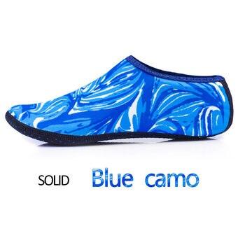 Camouflage blue sock