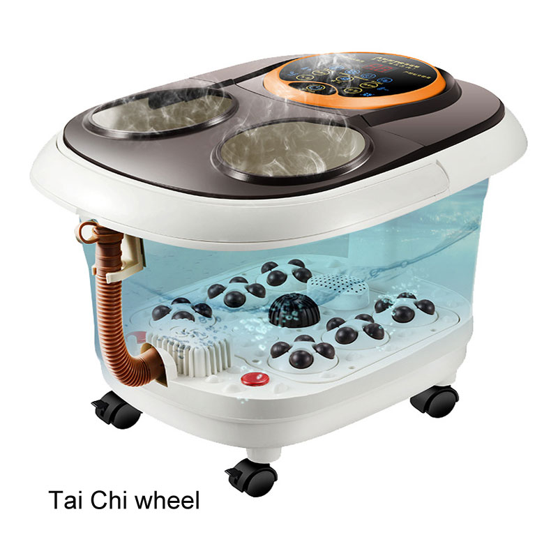 Automatic Massage Deep Barrel Foot Bath Footbath Electric Heated Foot Bath Foot Bath Barrel Water Pipe Type