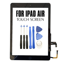 For iPad 5 Air 1 A1474 A1475 A1476 Touch Screen Digitizer Front Glass Display Panel Replacement New LCD Outer