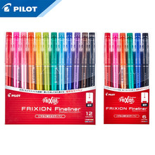 Pilot Dihapus Cat Air Pena Set SFFL-12F Temperatur Kontrol Tinta Art Lukisan Grafiti Diy Hook Line Pena(China)