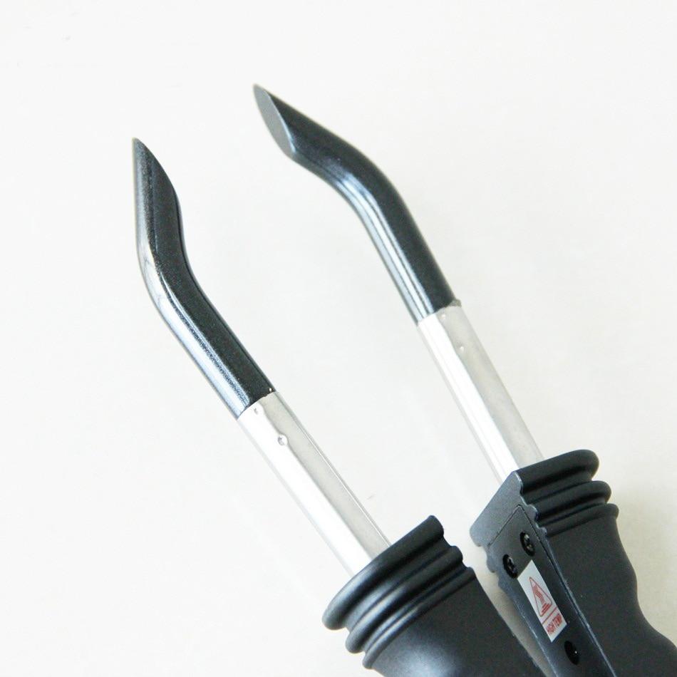Hair Extension Iron Keratin Bonding Tools Hair Extension Fusion Iron Tool For U/V/Flat Tip Human Hair Extension Connector