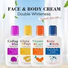 Papaya Snail Body Moisturizing Cream Hydrating Nourishing Skin Lightening Pigment Anti-Drying Cream caro white lightening beauty body cream 500ml