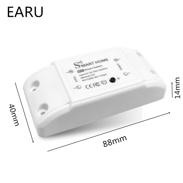 DIY Smart Home House Wifi Wireless Remote Switch Domotica LED Light Controller Module for Alexa Google Home Smartlife Tuya APP 2