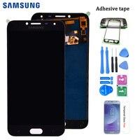 Für Samsung Galaxy J4 2018 J400 J400F J400H J400G J400P J400M LCD Display Touchscreen Digitizer Montage Können Einstellen helligkeit