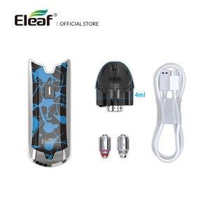 Image 3 - [RU/ES] оригинальный набор Eleaf Tance Max 4 мл со встроенной батареей 1100 мАч 15 Вт GS Air M 0.6 Ом/GS Air S 1.6ом Головка Катушки