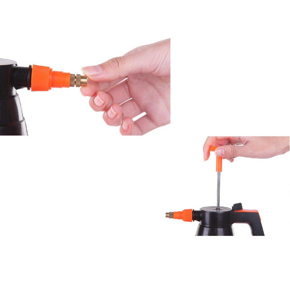 Dropshipping 2L Pneumatische Automatische Sprayer Orange Flasche Gießkanne Garten Sprinkler