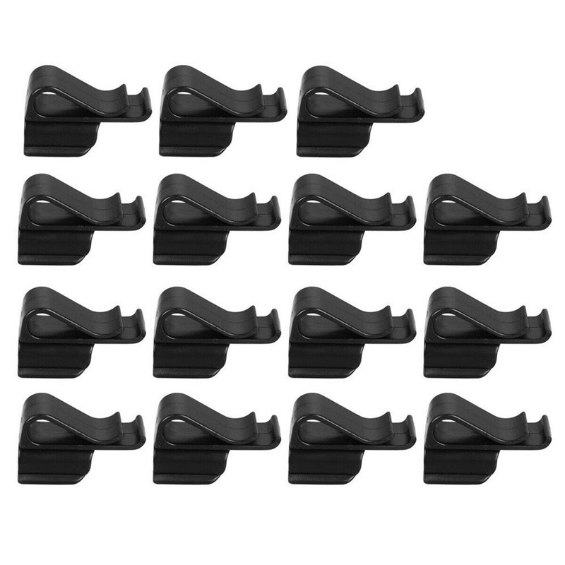 15Pcs Golf Bag Clip On Putter Clamp Holder Putting Organizer Club Ball Marker