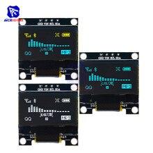 "Diymore Módulo de pantalla LCD OLED, 0,96 "", 12864 SSD1306, I2C, IIC Serial con Pin para Arduino 51, MSP430, serie STM32/2, CSR IC"