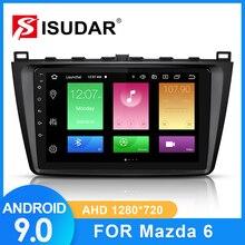 ISUDAR Auto Radio Per Mazda 6 2008 2009 2010 2011 2014 2 din Android 9 Autoradio Multimedia GPS DVR macchina fotografica di RAM 2GB di ROM 32GB USB