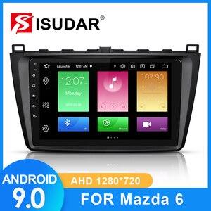 Image 1 - ISUDAR Auto Radio Per Mazda 6 2008 2009 2010 2011 2014 2 din Android 9 Autoradio Multimedia GPS DVR macchina fotografica di RAM 2GB di ROM 32GB USB