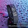 Смарт-браслет для фитнеса T5 IP65, водонепроницаемые мужские и женские спортивные часы со светодиодной подсветкой, трекер сна, Смарт-часы, шаго...