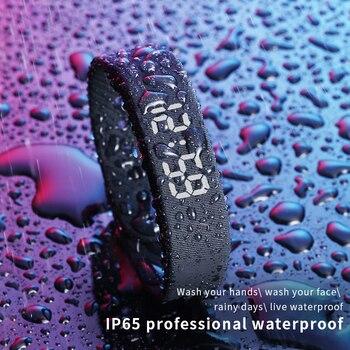 T5 Smart Wristband Fitness Bracelet IP65 Waterproof Men Women Sport Led Activity Sleep Tracker Smart Watch Bracelet Passometer