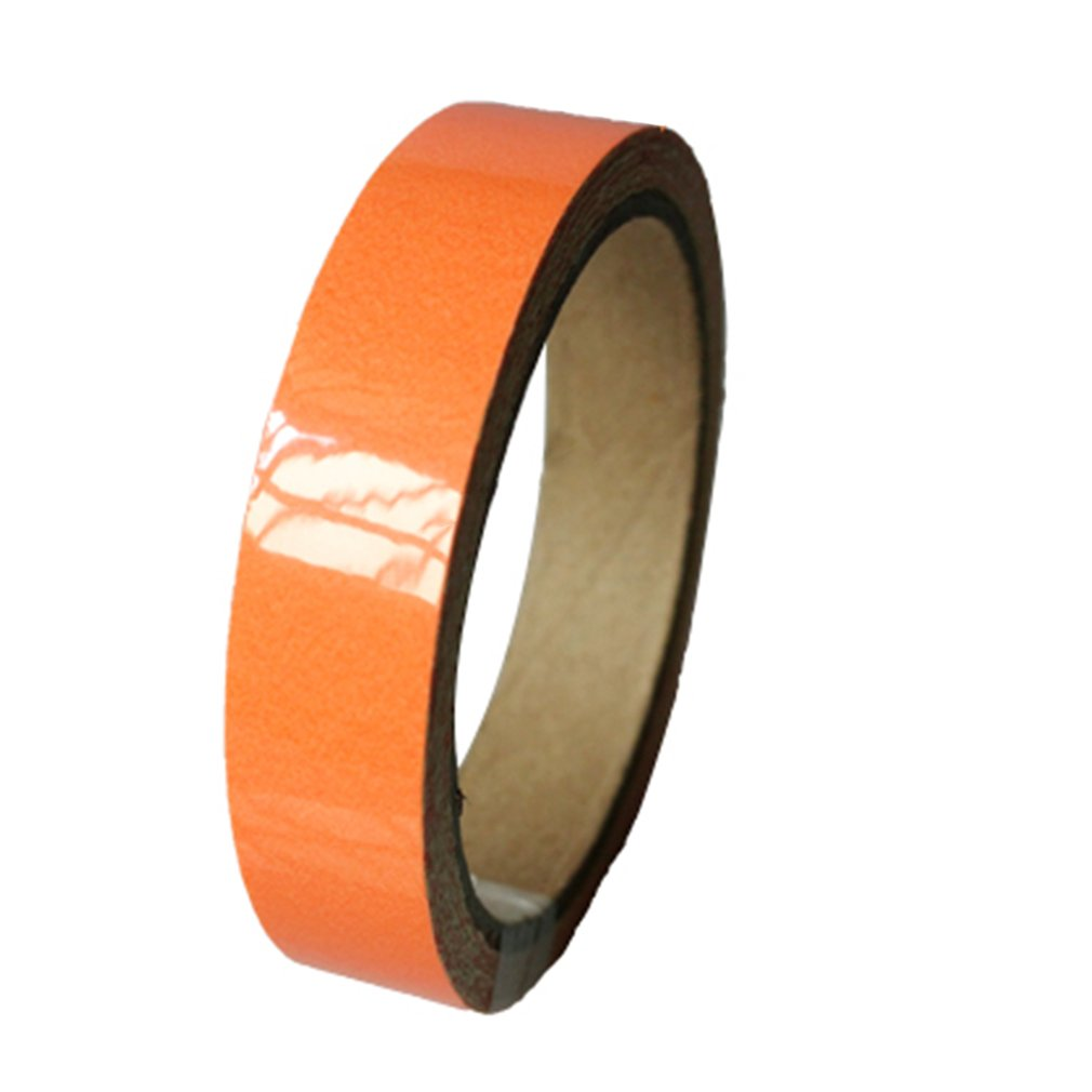 Hot Sales Reflective Glow Tape Self-adhesive Sticker Removable Luminous Tape Fluorescent Glowing Dark Striking Warning Tape