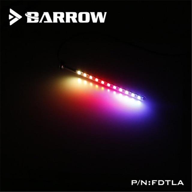 Barrow RGB Dải Cho Hồ Chứa Aurora LRC2.0 5V LED Nước Thạch Anh Mờ Kính Chiếu Sáng Hội Fdtla V2