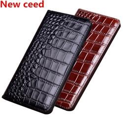 На Алиэкспресс купить чехол для смартфона high-end business genuine leather magnetic holder flip case for oppo realme x2 pro/realme x2/realme xt/realme c2 flip phone case