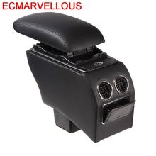 Upgraded Arm Rest Car Car-styling protector Parts Accessory Decoration Automovil Armrest Box 14 15 16 17 18 FOR Honda Fit