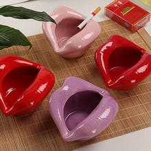 Modern Style Ashtray Cute Cartoon Mouths Mini Cigar Cigarette Smoking Household Merchandises
