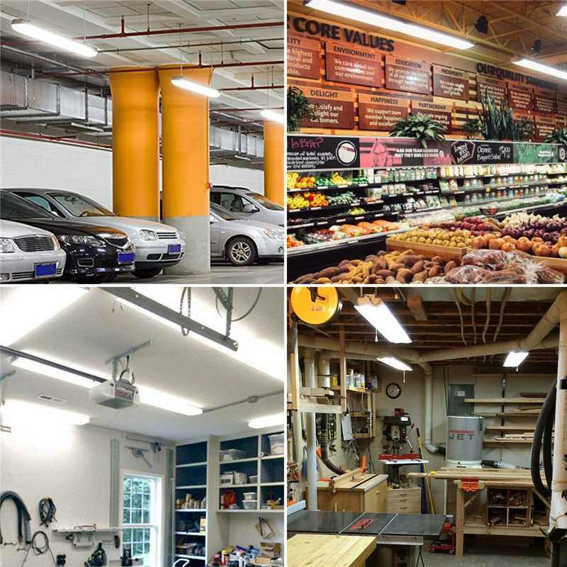 10 pièces LED très brillante T8 Tube lumière 1.2m haute puissance lampe Tube LED ampoule intégrée 4FT 36W pour éclairage intérieur AC85-265V