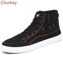 Men Boots Work Cowboy Canvas Ankle Round Spring/Autumn Male Comfortable Shoe Casual