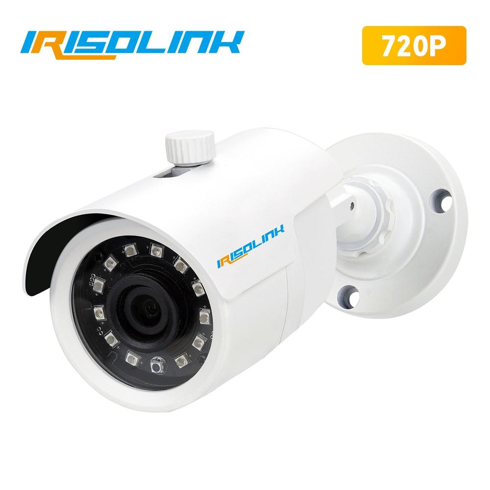 Irisolink HD 720P CCTV Camera TVI/CVI/AHD/CVBS 4-in-1 IR NightVision IP66 Weatherproof OUTDOOR 1MP Bullet Home Security Camera