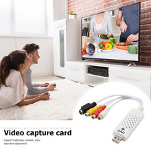 Carte de Capture Audio vidéo USB 2.0 Portable ALLOYSEED VHS à adaptateur DVD convertisseur de Capture vidéo pour Win/10/8/7 Mac IOS(China)