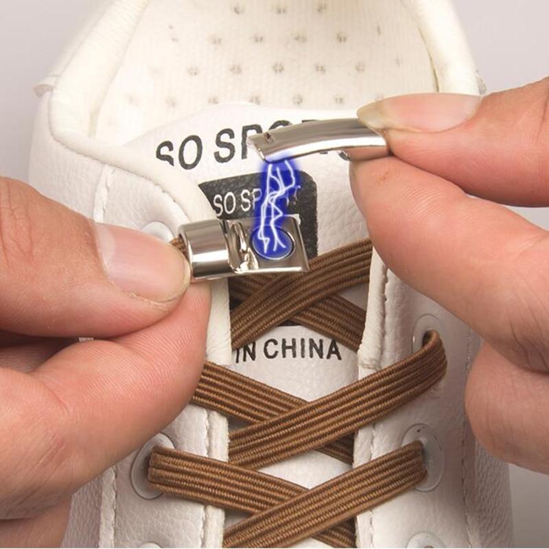 Elastic Magnetic 1 Second Locking Shoelaces