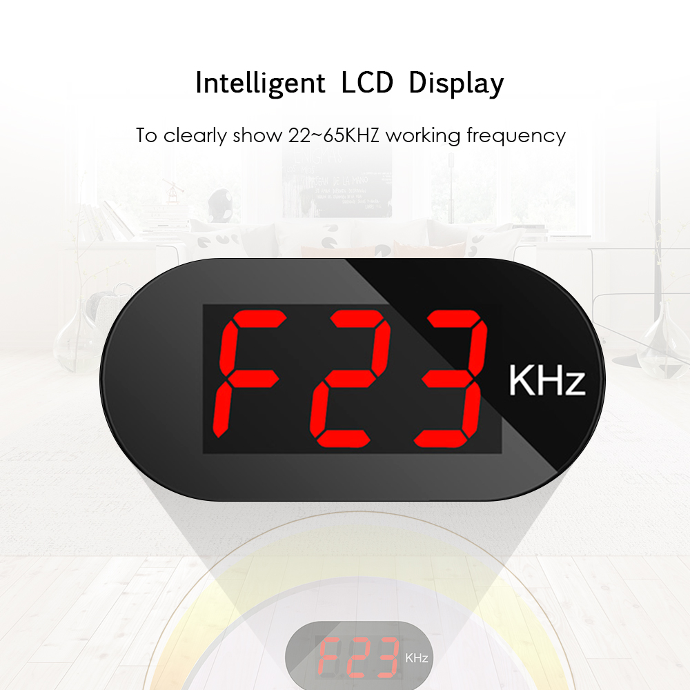 Image 4 - Ultrasonic Pest Repeller Electronic Mosquito Mouse Killer Bug Rat Spider Cockroach Insect Repellent with LCD Display AC110~240V-in Repellents from Home & Garden